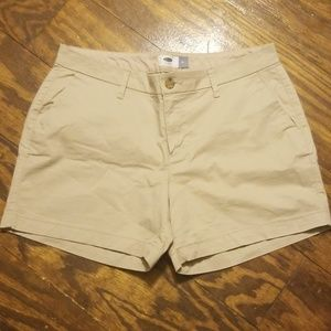 Old Navy khaki shorts, sz 10